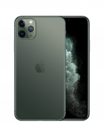 "Apple iPhone 11 Pro Max 6.5"" 256GB Dual SIM 4G/LTE zöld okostelefon"