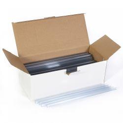 BLUERING (41504) 10mm átlátszó iratsín 100 db/doboz