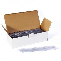 BLUERING (41502) 4mm átlátszó iratsín 100 db/doboz