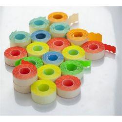 22x12 mm citrom árazógépszalag (1200 címke/tekercs)