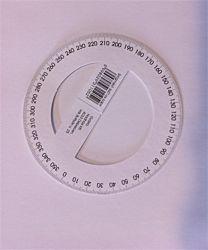 360 fokos papír szögmérő (100 db)