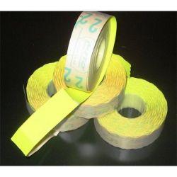 METO 19x16 mm citrom árazógépszalag (1200 címke/tekercs)