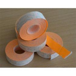 METO 19x16 mm narancs árazógépszalag (1200 címke/tekercs)