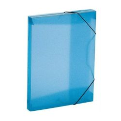 "VIQUEL ""Propyglass"" 30 mm A4 kék gumis mappa"