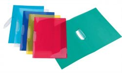 """VIQUEL """"Propyglass V-Clip"""" A4 klipes PP vegyes színű gyorsfűző"""