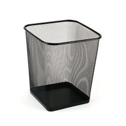 Victoria fémhálós szögletes fekete papírkosár