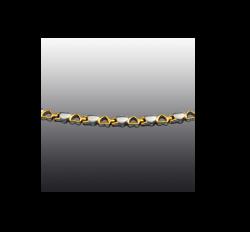 Jade Luxury 2 M arany-ezüst mágneses karkötő