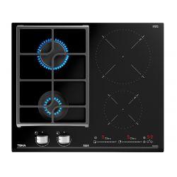 TEKA 112570129 7500W 4-zónás fekete beépíthető indukciós gáz főzőlap