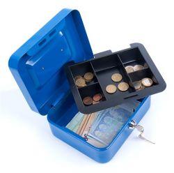 DONAU 15,2x11,5x8 cm kék pénzkazetta