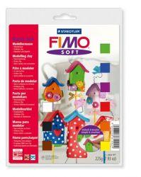 """FIMO """"Soft Basic"""" égethető vegyes színű gyurma készlet (9x25 g)"""
