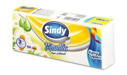 """""""Sindy"""" 100 db 3 rétegű kamilla illatú papír zsebkendő"""