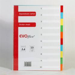 BLUERING EV4G05 10 részes színes karton Elválasztólap
