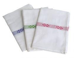 Textil 50x70 cm lila színű konyharuha