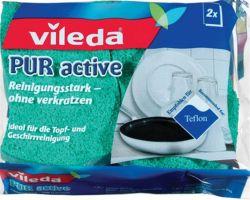"""VILEDA """"Pure Active"""" (2 db/ csomag) színes mosogatószivacs"""