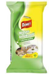 Domet (40 lap/csomag) univerzális nedves törlőkendő