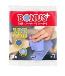"""Bonus """"Premium Line"""" (3 darab/csomag) rózsaszín univerzális törlőkendő"""