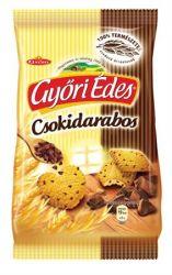 """Győri """"Győri édes"""" 150 g csokidarabos keksz"""