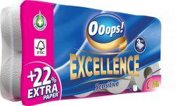Ooops! Excellence 3 rétegű toalettpapír (8 tekercs)