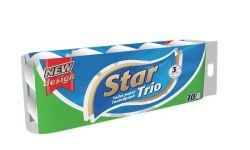 Star 3 rétegű toalettpapír (10 tekercs)