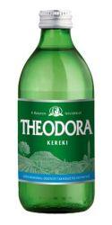 Theodora Kereki szénsavas 0,33 l természetes üveges ásványvíz
