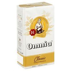 Douwe Egberts Omnia 250 g őrölt pörkölt kávé vákuumos csomagolásban