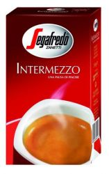 Segafredo Intermezzo 250 g őrölt pörkölt kávé vákuumos csomagolásban