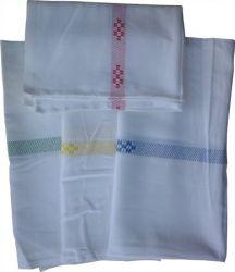 Kék-fehér textil konyharuha