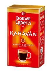 Douwe Egberts Karaván 225 g őrölt normál pörkölésű kávé vákuumos csomagolásban