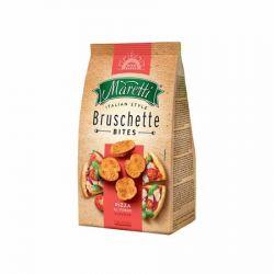 """MARETTI """"Bruschette"""" 70 g pizza ízesítéssel pirított kenyérkarika"""