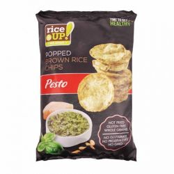 RICE UP 60 g pesto barnarizs chips