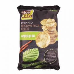 RICE UP 60 g wasabi barnarizs chips