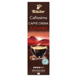"TCHIBO ""Cafissimo Caffé Crema Colombia"" 10 darabos kévékapszula"
