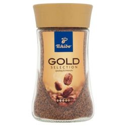 "TCHIBO ""Gold Selection"" 100 g üveges instant kávé"