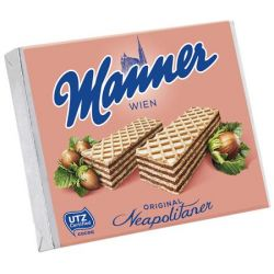 """Manner Original"" 75 g mogyorós ostya"