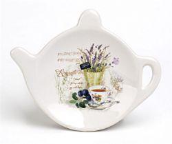 Levendula mintás 10x9x2 cm teafilter tartó