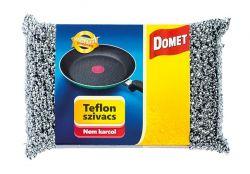 Domet (117 x 30 x 78 mm) inox teflon szivacs