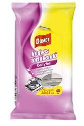 Domet (40 lap/csomag) konyhai nedves törlőkendő