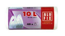 Alufix 10 l köthető füles szemeteszsák (40 db)