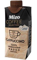 Mizo Cappuccino 0,33 l UHT félzsíros laktózmentes kávéválogatás visszazárható dobozban