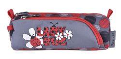 """Tolltartó, cipzáras, PULSE""""Lady Bug"""", szürke-piros-fekete"""