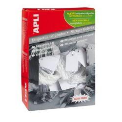 APLI 9x24 mm fehér árazócímke (1000 db)