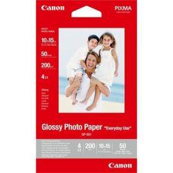 CANON 10x15 cm 200 g GP-501 tintasugaras fényes fotópapír (100 lap)