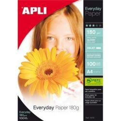 """APLI A4 180 g """"Everyday"""" tintasugaras fényes fotópapír"""