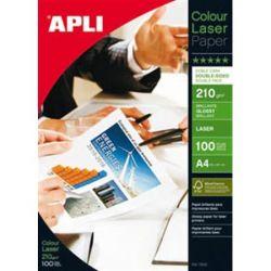 """APLI A4 210 g """"Premium Laser"""" lézer kétoldalas fényes fotópapír (100 lap)"""