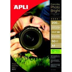 """APLI A4 200 g """"Everyday"""" tintasugaras fényes fotópapír (50 lap)"""