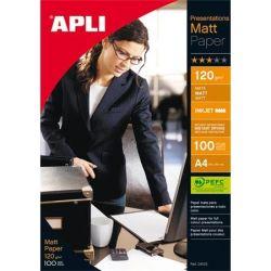 "APLI A4 120 g ""Presentations"" tintasugaras dobozos matt  fotópapír (100 lap)"