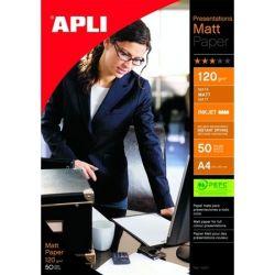 "APLI A3 120 g ""Presentations"" tintasugaras matt fotópapír (50 lap)"