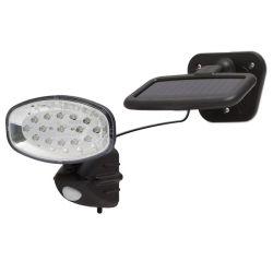 Handy 55269, kültéri, mozgásérzékelős, érzékelési távolság max 6m, fekete LED napelemes lámpa