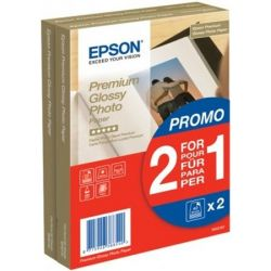 EPSON 10x15 cm 255 g S042167 fényes tintasugaras fotópapír (2x40 lap)