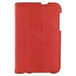 4World Samsung Galaxy Tab 2 műbőr 4-Fold Slim, 7'', piros tok-állvány